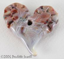 Call to my Heart - Art Glass by SPIglassStudio