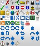 3D Icons Free Starter Pack by ray-bot