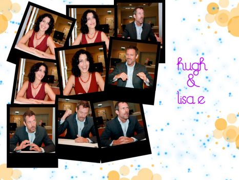 Hugh Laurie and Lisa E by ohmysamanthaxo