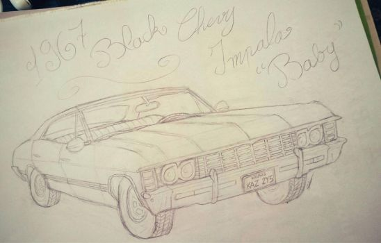 '67 Impala by CristalMyRabbit