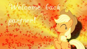 Welcome back to applejack. by ALoopyDuck