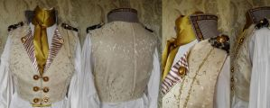 Steampunk inspired waistcoat PCW14-2 by JanuaryGuest