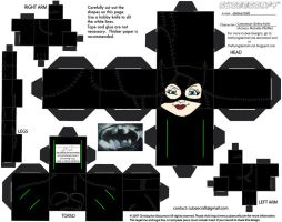 DCF2: Catwoman Cubee by TheFlyingDachshund