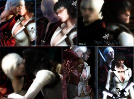 Dante x Lady  collage by SamThePenetrator