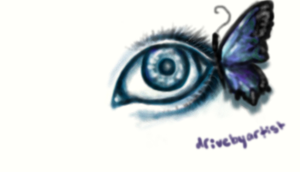 Butterfl-eye by DriveByArtist