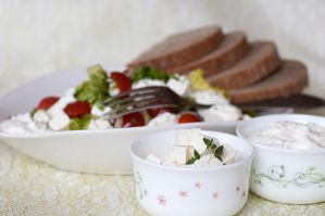 Vegetable salad with yogurt I by SamanthaClara