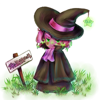 Skullcandle Witch by punkion