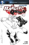Harley Quinn sketch cover by mechangel2002