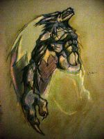 talbain howls by kitten-on-fire