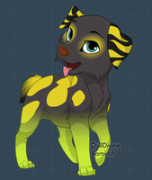 Puppy Buzz: Not drawn by me! by The-Lost-Hope