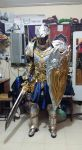 Test Fitting on King Llane Costume by LadyAngelus