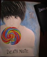 L. Death Note by AnastasRadonski