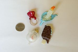 Melting Yummy Charms by MonsterBrandCrafts