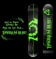Tiberium Rush Snowboard. by Adder24