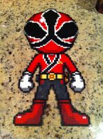 Power Rangers Samurai Red by powerranger02