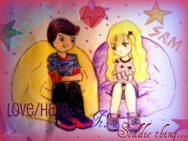It's a Seddie thing. by Mitsukirainbow