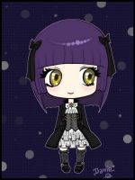 Gothic Lolita Chibi by DeadPeppermint