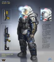 WY Security Corp Enforcer by ARTOFJUSTAMAN
