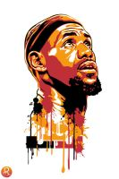 Lebron James by venom4you