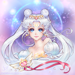 Neo-Queen Serenity Card by Channel-Square