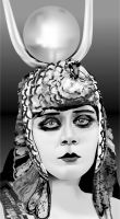 Theda Bara as Cleopatra by eyeqandy