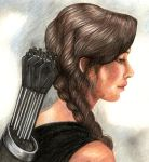 Katniss by ombradellaluna