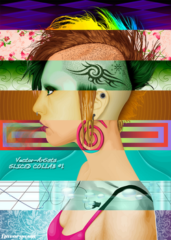 Sliced Collab no1 by vector-artists