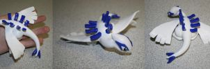 Fimo Lugia by rachelled
