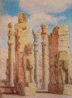 A nation's glory:Persepolis II by Leogon