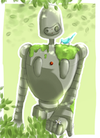 Robot+Nature by Hydrogen-Oxide