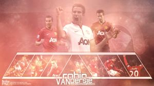 Robin Van Persie Wallpaper by Meridiann