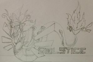 Pokemon Solstice-Heliauax (Sketch) by The-Universe-of-Nya