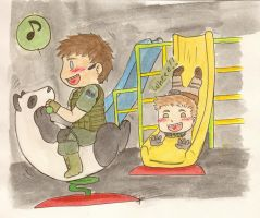 Re6 Recess Time by Luckyoctopus