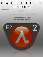 Half-Life 2: Episode 2 icon by MaxBolt