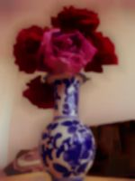 Flowery Vase by theWitchofGrich