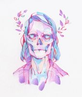 Skull by DaryaSpace