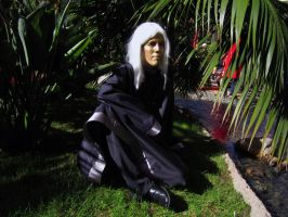 Raistlin Majere Black Robe Cosplay by Poochyena123