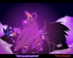 Don't you dare to touch him! Reguest by Shadzerios