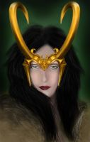 Lady Loki:Goddess of Mischief by Jerickson-abuel