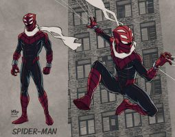 ProjectRooftop- Spider-Man by MikeDimayuga