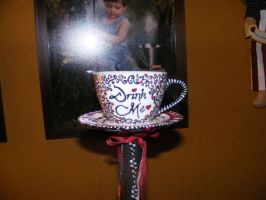 Tea Cup Staff by bkell22