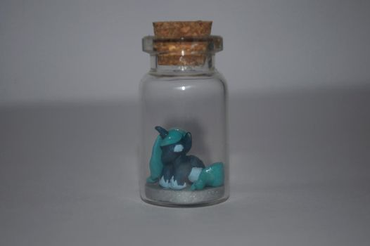 Luna in a bottle by Blindfaith-boo
