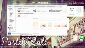 CutePastelia' Theme Iconpackager by TutosVaalu