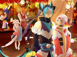 CE: To the Japanese Festival by JigokuShii