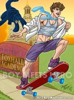 Skater Josh 2 by Boy-Meets-Hero