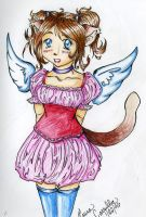 Angel Kitty - stage 2 by Duet