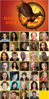 The Hunger Games-Catching Fire Dream cast by danthe93