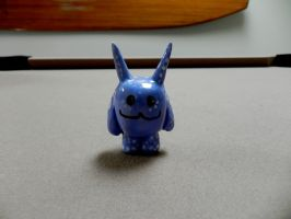 cute lil blue monster by wolfbainswinter