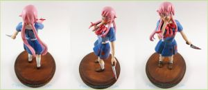 Commission Yuno Gasai Future Diary 04 by Tsurera