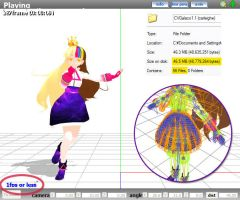MMD Galaco CV 1.1 - Model Review by Trackdancer